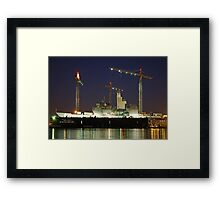 Speede Metro Machine Corp Framed Print