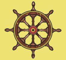 Ships Wheel by Margaret Zita Coughlan