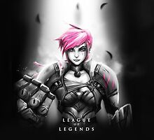 League of Legends - Vi by leagueofposters