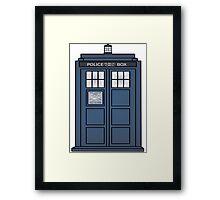 Doctor Who Tardis doors Framed Print