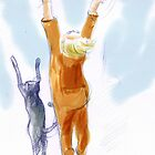 """Reach for the Sky!"" by Sarah Madsen"
