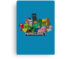 MINECRAFT Canvas Print