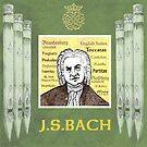 Bach Portrait by Paul Helm