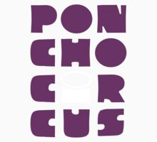 Poncho Circus - Block Purple 2. NEW RELEASE Kids Clothes