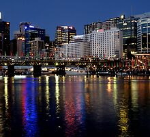 City Night @ Cockle Bay Darling Harbour by DavidIori