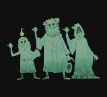 Hitch-hiking Christmas Ghosts by RoguePlanets