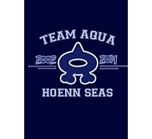 Team Aqua Photographic Print