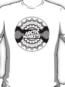Arctic Monkeys Mandala Circle Print T-Shirt