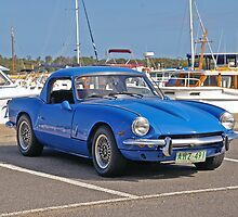 Triumph Spitfire 4 - 1963 by Paul Gilbert
