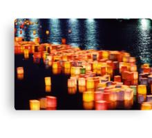 In rememberance -  Hiroshima, August 6 2003 Canvas Print
