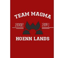 Team Magma Photographic Print