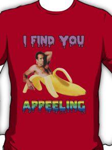 Nicolas Cage Inside A Banana T-Shirt