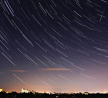 Star Trails / Perseid Meteor Shower by Julia Gutgesell