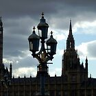 Evening outside Parliment  by Karen Harding