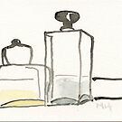 Two Bottles by Gabriele Maurus