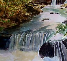 Boykin Springs/ Watercolour by Jennib