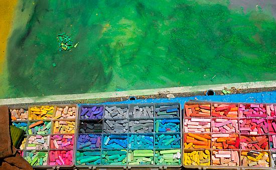 Chalk Colors by Eyal Nahmias