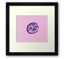 Lovely Sloth Framed Print