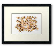 Pistachios as Healthy and Nutritious Dietary Supplement  Framed Print