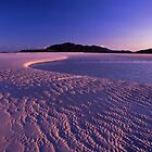 Tidal art - Hill inlet, Nth Qld by Tony Middleton