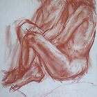 Life Study in Red Chalk by more  ed