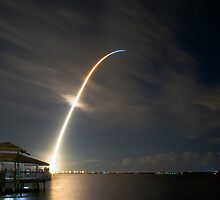 Space Shuttle Night Launch STS-116, Dec. 9, 2006 by yoza717