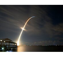 Space Shuttle Night Launch STS-116, Dec. 9, 2006 Photographic Print