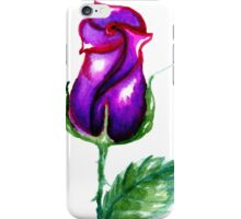 Colorful Painted Rose 3 iPhone Case/Skin