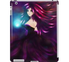 Girl with magic ball iPad Case/Skin
