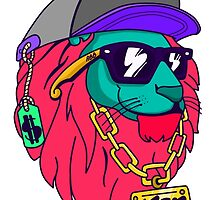 Young Lion Swag Art by Solbessx