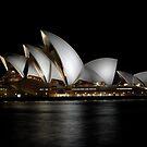 Sydney Opera House by Night by Bill Fonseca