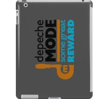 Depeche Mode : Some Great Reward - Title iPad Case/Skin