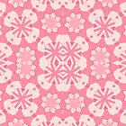 Pinkette Evelynne Pink Pattern by CircusValley