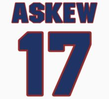 Basketball player Vincent Askew jersey 17 by imsport