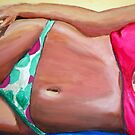 Beach Babe by gillsart