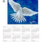 2015 WhiteDove Calendar by WhiteDove Studio kj gordon