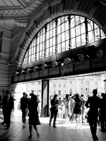 Flinders Street Station  by rebecca zachariah