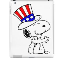 USA Snoopy iPad Case/Skin