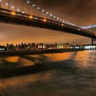 The Lights of the Triborough Bridge by ponycargirl