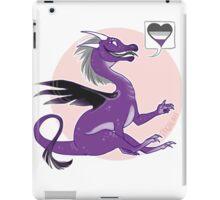 demisexual dragon iPad Case/Skin