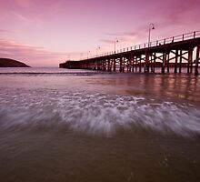 Coffs Harbour Jetty 7 by Mark Snelson