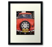 Red Nash Metropolitan, Havana Framed Print