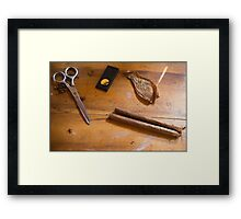 Hand Wrapped Cigars Framed Print
