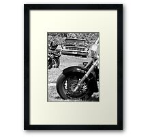Lincoln Continental Framed Print