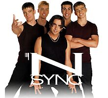 *NSYNC ('90s Version) Photographic Print