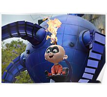 Disney Incredibles Jack Jack Disney Pixar Baby Incredible Poster