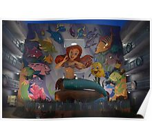 Disney Little Mermaid Ariel Poster