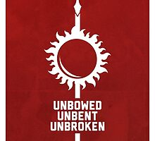 Unbowed - Unbent - Unbroken by Daniel Cross