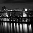 Burrard Bridge at night by Jonathan Epp