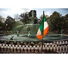 The Greening Of The Fountain 2007 Photographic Print